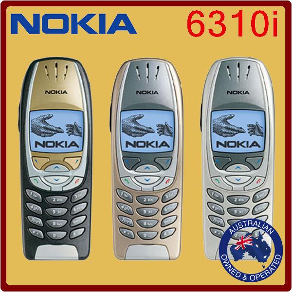 Unlocked Genuine NOKIA 6310I Black & Silver Mobile Phone - Manufacturer Direct