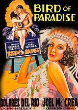 BIRD OF PARADISE ('32) - DVD - Region Free - Sealed