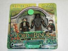 Art Asylum FRODO & URUK-HAI SWORDSMAN Lord of The Rings Minimates Set