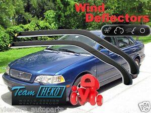 VOLVO-S40-V40-4-5D-1996-2004-Wind-deflectors-2-pc-HEKO-31216-for-FRONT-DOORS