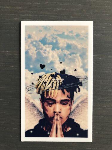 Xxxtentacion Sky Pray Portrait Sticker Vinyl And Good Quality R.I.P HIP HOP
