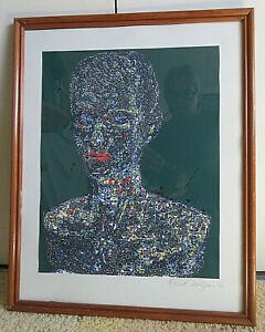 Face Abstract Pencil Art