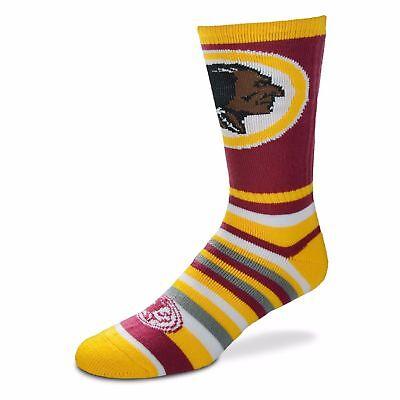 For Bare Feet NCAA Lotta-Stripe Mens Crew Dress Socks