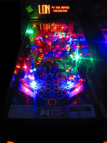 Last Action Hero Complete LED Lighting Kit custom SUPER BRIGHT PINBALL LED KIT