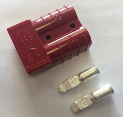 Battery Connection Anderson Jack Plugs 50 /& 175Amp Auxilary