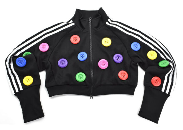 Jeremy Scott x adidas ObyO Buttons Jacket O27152 Rare New & 100% Authentic
