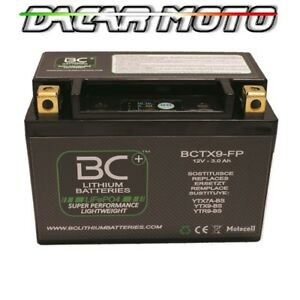BATTERIA-MOTO-LITIO-POLARIS-OUTLAW-525-IRS-2008-2009-2010-2011-BCTX9-FP