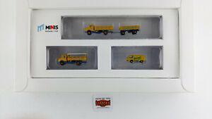 MINIS-N-LC5014-SET-TRES-AUTOS-034-FLENSBURGER-BIER-034-NUEVOS