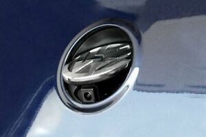 Emblem-Ruckfahrkamera-RNS-510-Emblem-Kamera-vorhanden-mit-Hilfslinien-fur-VW