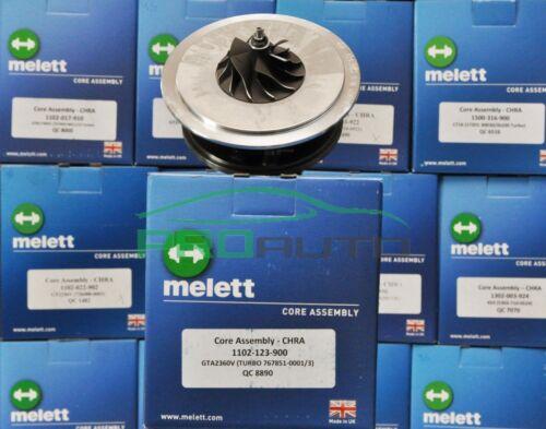 Melett 1102-123-900 Turbo LCDP Turbocompresseur Made in UK Garrett GT2360V