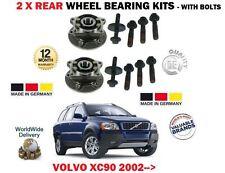 FOR VOLVO XC90 9/2002--  NEW 2 x REAR WHEEL BEARING HUB KIT COMPLETE SET