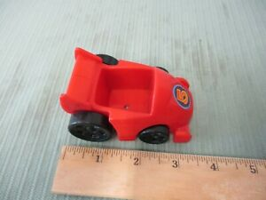 Fisher Price Little People Vehicle Red Race Car Track Part Toy Speedway Fun Ebay