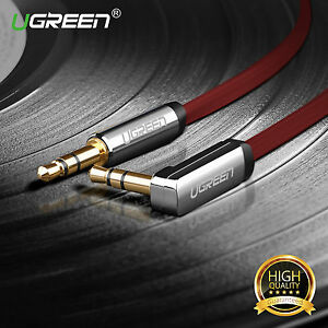 Ugreen-Audio-Cable-3-5mm-Jack-Cable-Stereo-Auxiliaire-Male-vers-Male-90-Degres