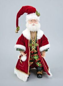"""Katherine's Collection Traditional Santa Doll 19""""  28-728461"""