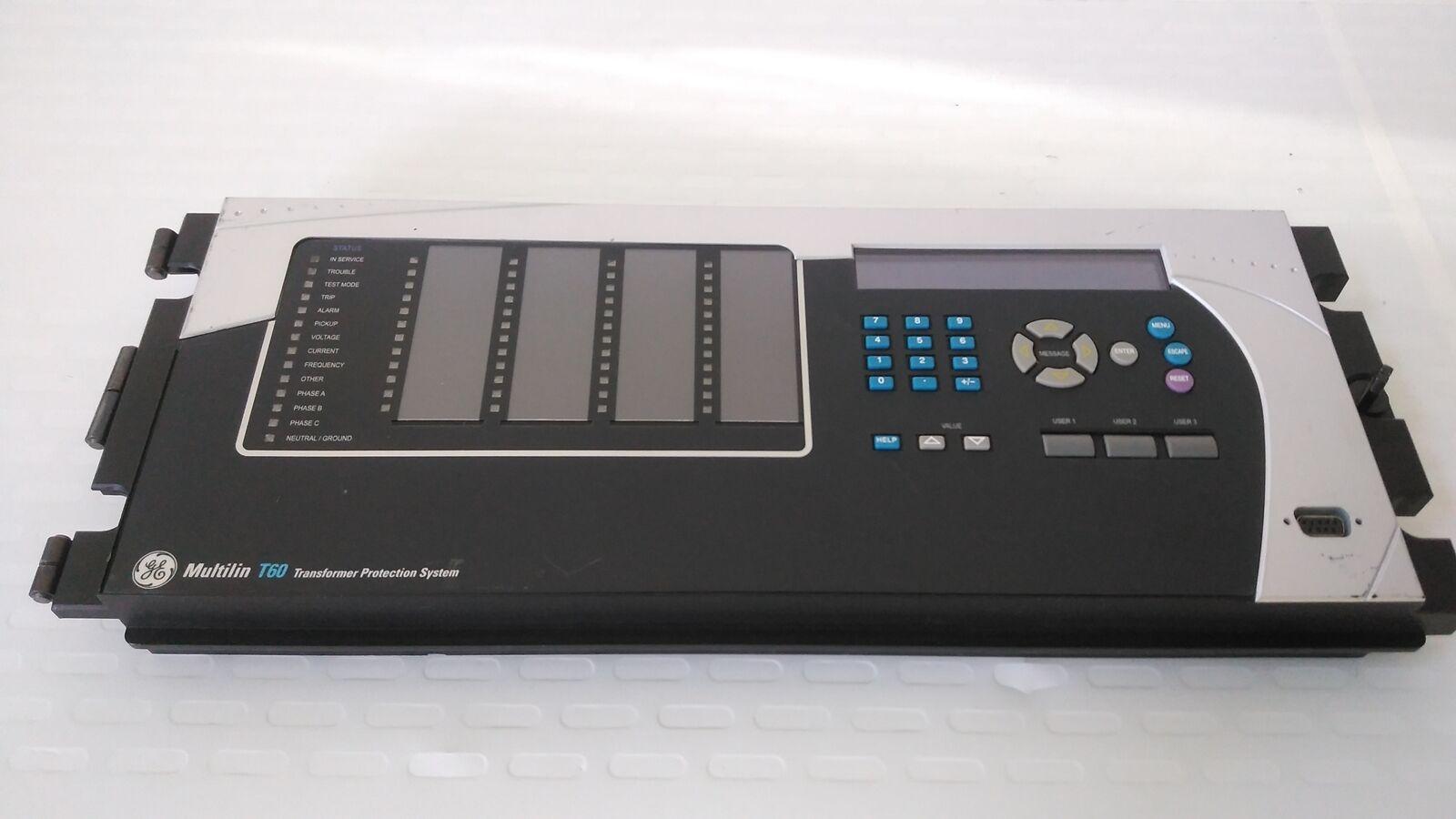 ge multilin t6p3kh front panel t60 transformer management relay rh ebay com ge t60 instruction manual ge t60 technical manual