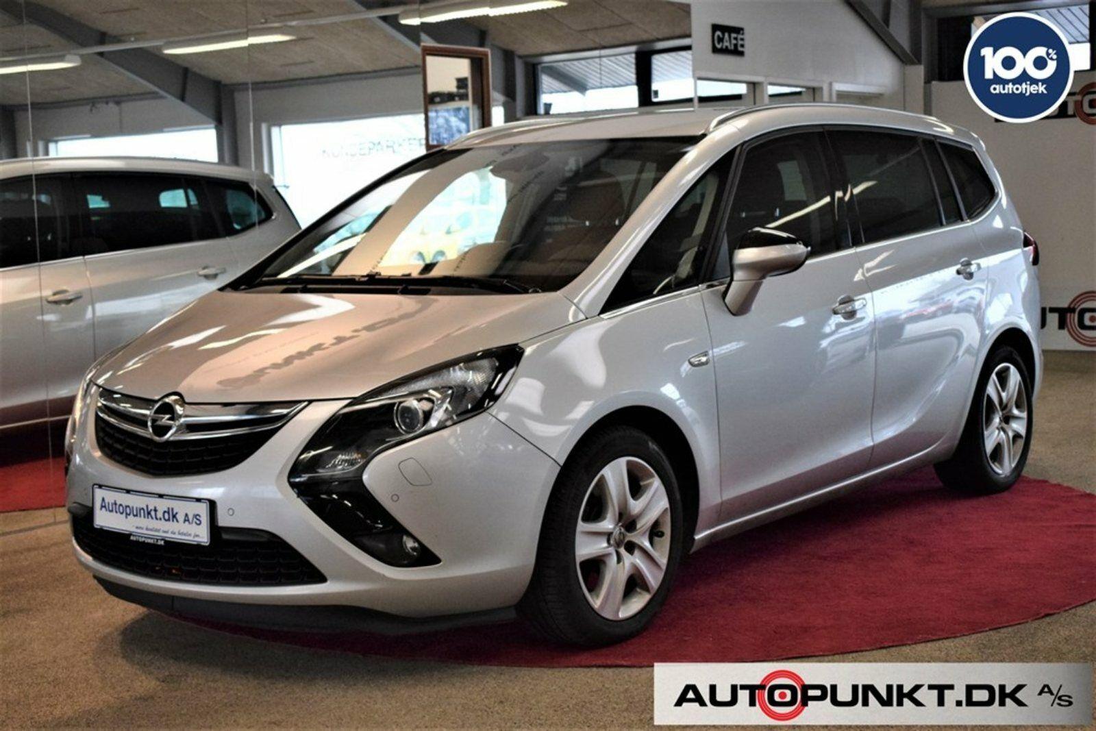 Opel Zafira Tourer 2,0 CDTi 170 Enjoy aut. 5d - 159.700 kr.