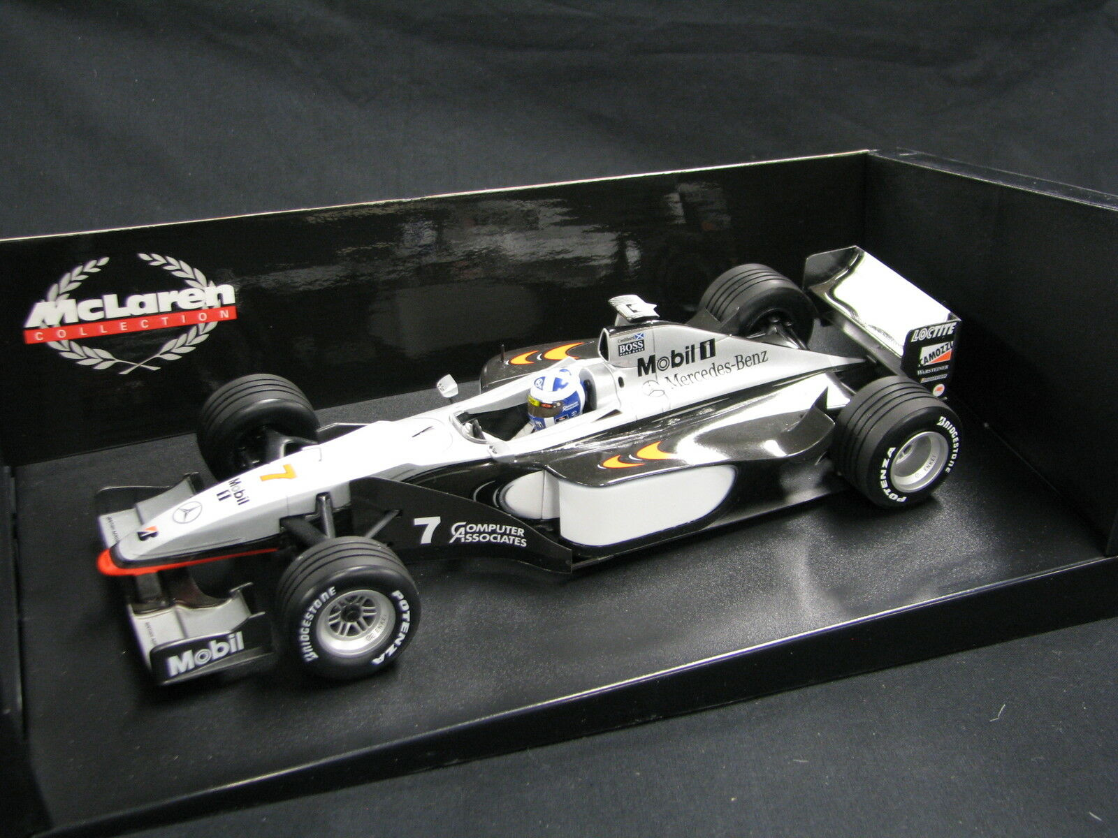 Minichamps McLaren Mercedes MP4 13 1998 1 18  7 David Coulthard (GBR) (JS) ND