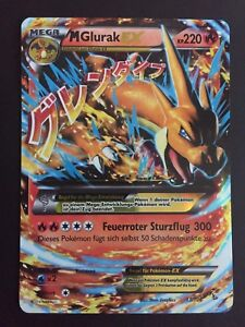 Pokemon Karten Mega Glurak Ex.Details Zu Pokemon Karte Mega Glurak Ex