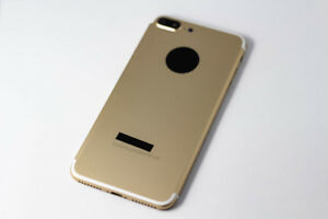 buy online dbe58 a7c3b Details about For Apple iPhone 7 Plus Back Housing Rear Cover Replacement -  Gold