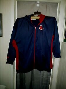 6XL-MLB-Boston-Red-Sox-Zip-Hoodie-Jacket-Majestic-Made-Excellent-Used-Condition