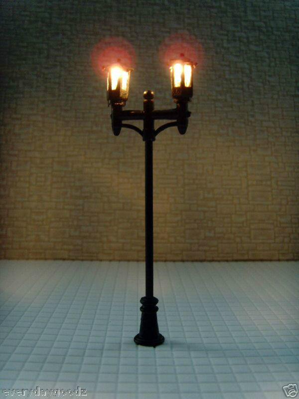 LT25-300x Scale Train Model Lamppost Lamp Light HO TT