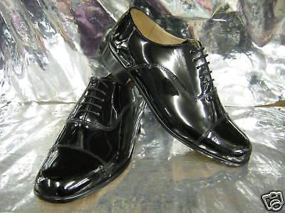 Acquista A Buon Mercato Uomo Grenson Paddington Pelle Nera Verniciata Scarpe Eleganti Prestazioni Affidabili