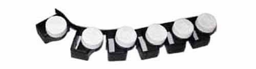 Single or 6 Pk Black Car Seat Belt Buckle Guard Button Cover Regular or Pro