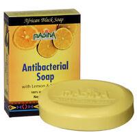 Antibacterial Hand Body Soap Herbal Skin Cleanser Lemon Grass Shea Aloe Bar