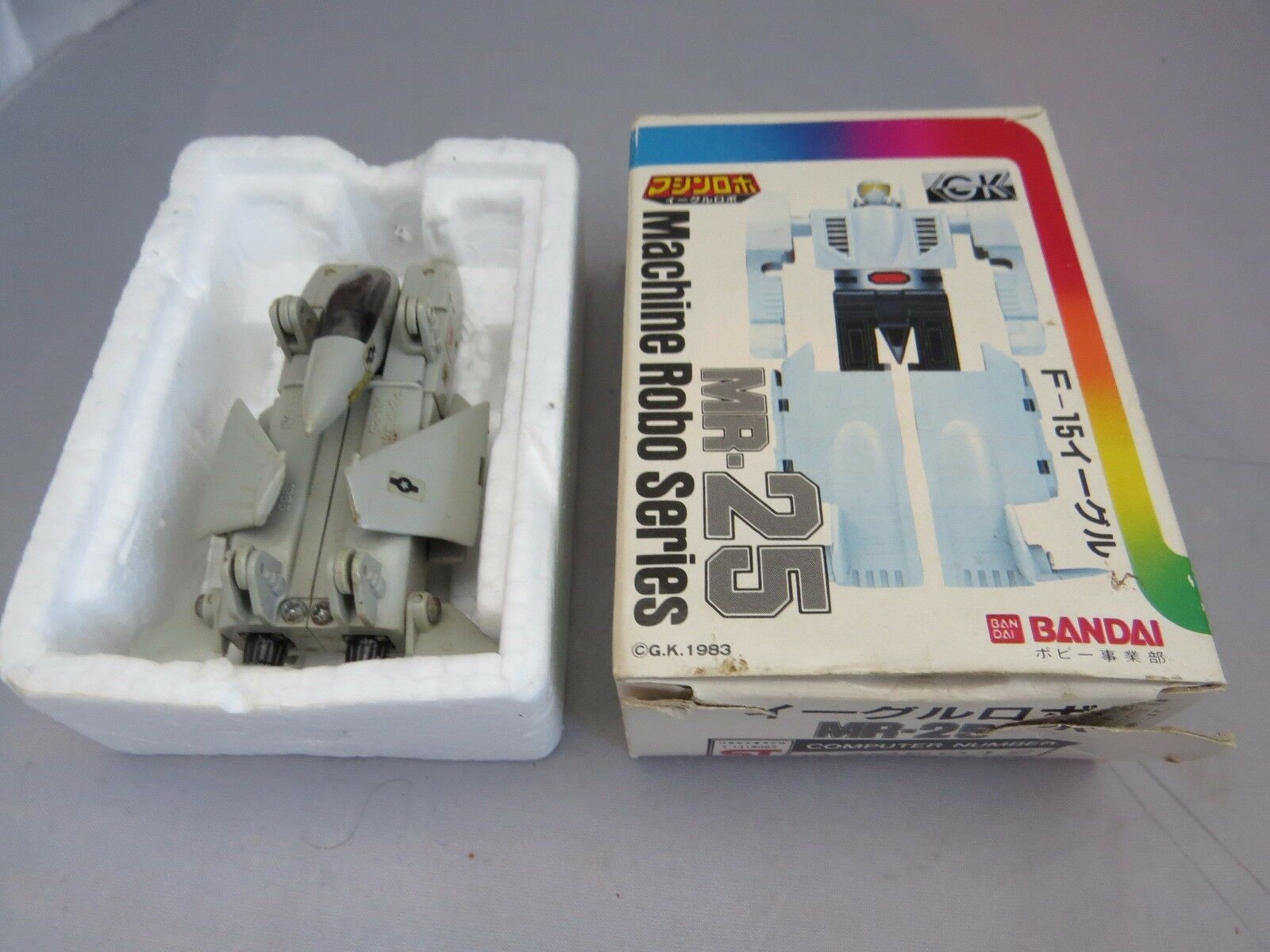 GOBOTS Micro Robots Micrgoldbots MR-29 Japan (Leader-1)