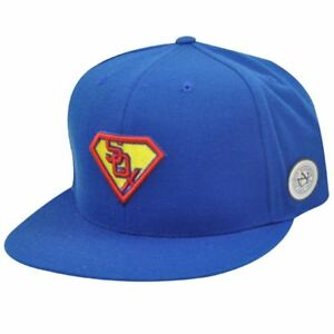 MLB-CHICAGO-WHITE-SOX-FITTED-7-SUPERMAN-FLAT-CAP-HAT