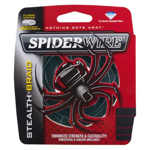 Spiderwire Stealth Green 270M 20Lb//25mm Geflochtene Angel Schnur Grün Sha