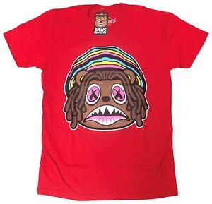 Baws-Red-Rasta-Baws-T-Shirt