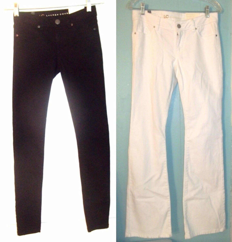 Lauren Conrad Slim Bootcut Denim Jeans & Jeggings NWT 50 Size 0-4