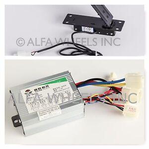 500W-24V-kit-speed-controller-amp-Foot-Pedal-Throttle-f-electric-motor-goKart-DIY