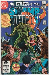 The-Saga-of-the-SWAMP-THING-1982-DC-comics-very-fine-free-shipping-Pasko-Yeates