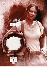 The Walking Dead Season 5 Costume Relic Card Maggie Greene 05/10