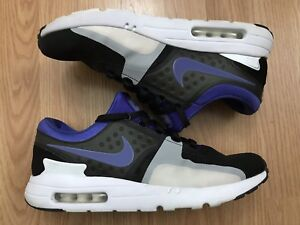 Details about Nike Air Max Zero QS 789695 004 Men's Size 10 BlackWhitePersian Violet