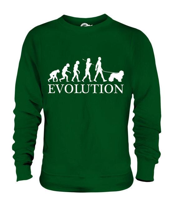 KOMONDOR EVOLUTION OF MAN UNISEX SWEATER  Herren Damenschuhe LADIES DOG LOVER GIFT