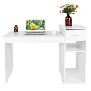 Table d'ordinateur table de bureau table de travail bureau domicile + tiroirs