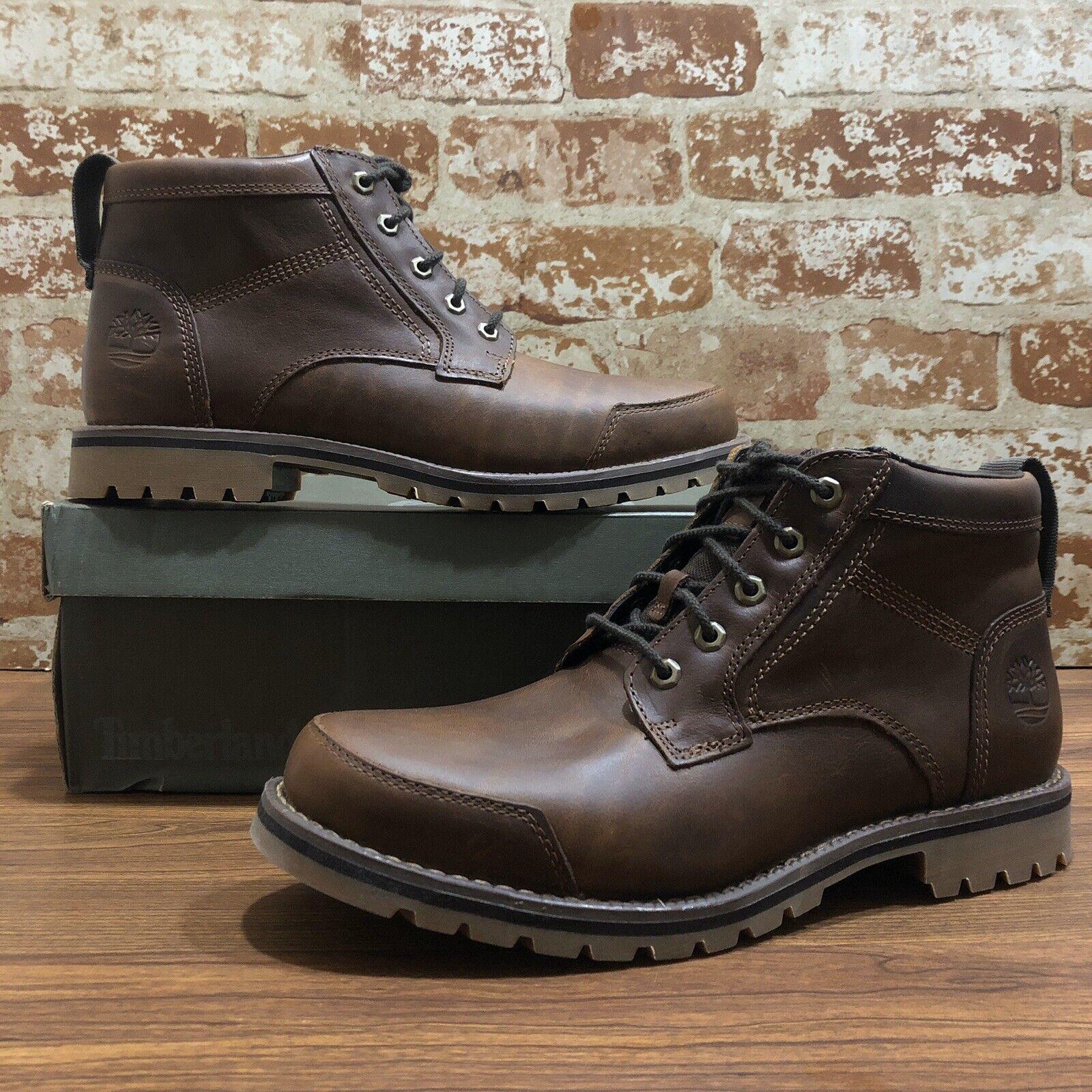 barbería lección Laboratorio  Timberland Men's Larchmont Brown Full Grain Leather Chukka BOOTS A1yxu. Sz  12 for sale online | eBay