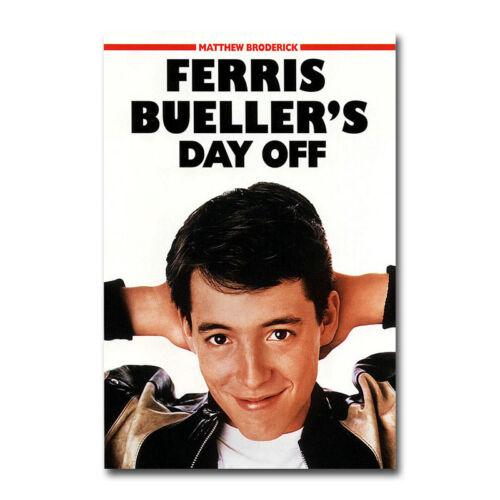 Ferris Bueller/'s Day Off Vintage Movie Silk Canvas Poster 12x18 24x36 inch