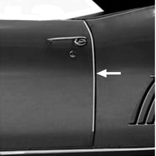 1970 71 72 73 74 75 76 77 78 79 80 81 Camaro Firebird Stainless Door Edge Guards