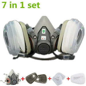 Set-7-In-1-half-Face-Gas-Mask-6200-Spray-Painting-Protection-Respirator-5N11