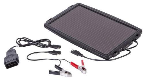 AA Car Caravan Vehicle Solar Panel Charging Car Battery Charger - 2.4W Output