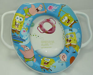 Soft Padded Potty Training Seat With Handles