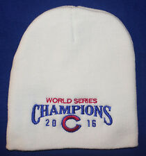 b303418d51a86 item 4 CHICAGO CUBS 2016 WORLD SERIES CHAMPIONS WINTER BEANIE HAT - WHITE -CHICAGO  CUBS 2016 WORLD SERIES CHAMPIONS WINTER BEANIE HAT - WHITE