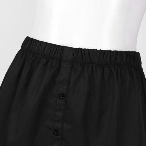 Women Fake False Shirt Tail Blouse Hem Skirt Underskirt Sweatshirt Detachable
