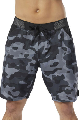 Reebok Epic Lightweight Mens Training Shorts Grey