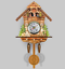 New-Vintage-Cuckoo-Clock-Forest-Swing-Wall-Room-Decor-Wood-Cartoon-Clock thumbnail 3