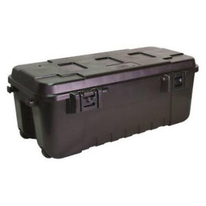 Genial Image Is Loading Large Wheeled Weatherproof Portable Storage Trunk  Footlocker Travel